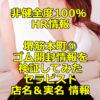 【退店】【非健全度100% HR情報】堺筋本町④ ゴム開封情報を実際に検証してみた結果!